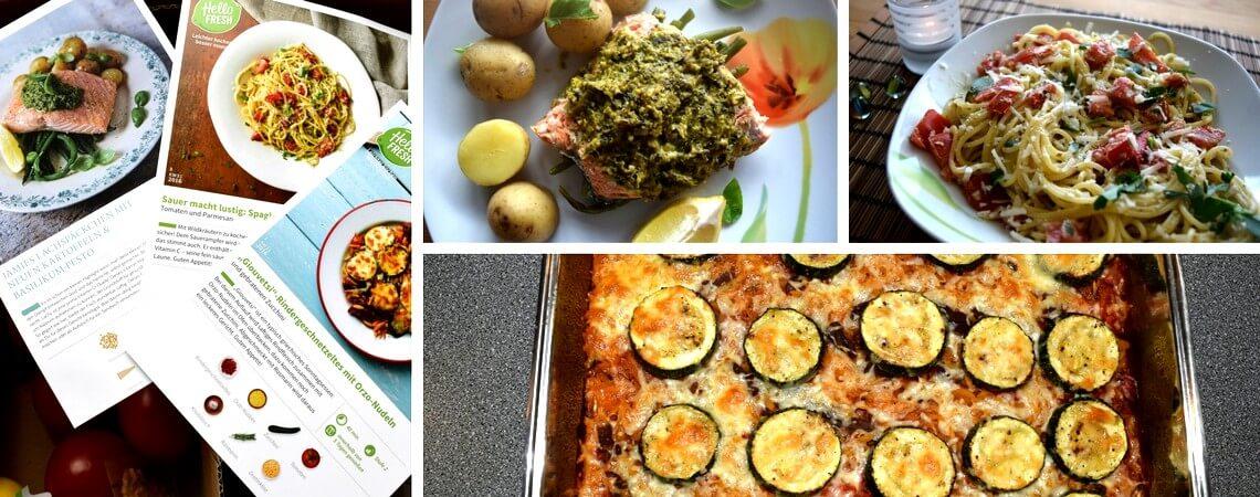 HelloFresh Rezepte mit Bild und Bilder der nachgekochten Gerichte