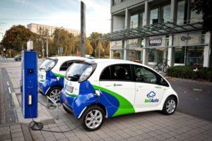 Elektroautos bei teilAuto Dresden / Foto: teilAuto - Mobility Center GmbH